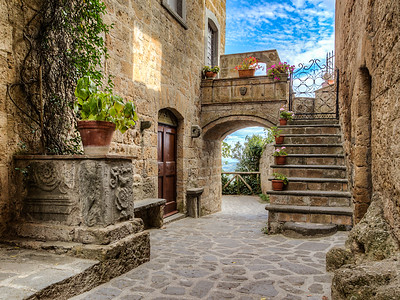 The surviving beauty of Civita