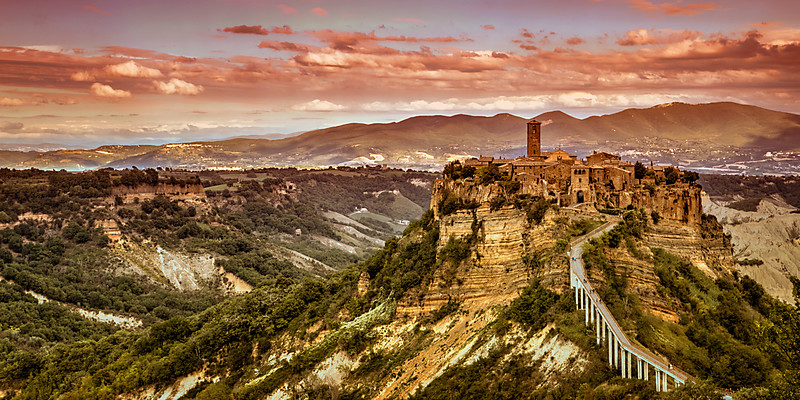 City in the Sky - Civita Di Bagnoregio