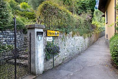 The path to San Martino