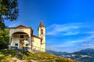 San Martino Church, Lake Como, Italy
