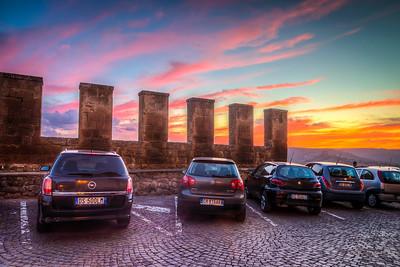 Medieval Parking lot