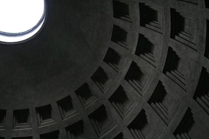 Pantheon Ceiling