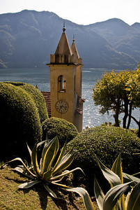 The Villa Balbianello in Lenno.