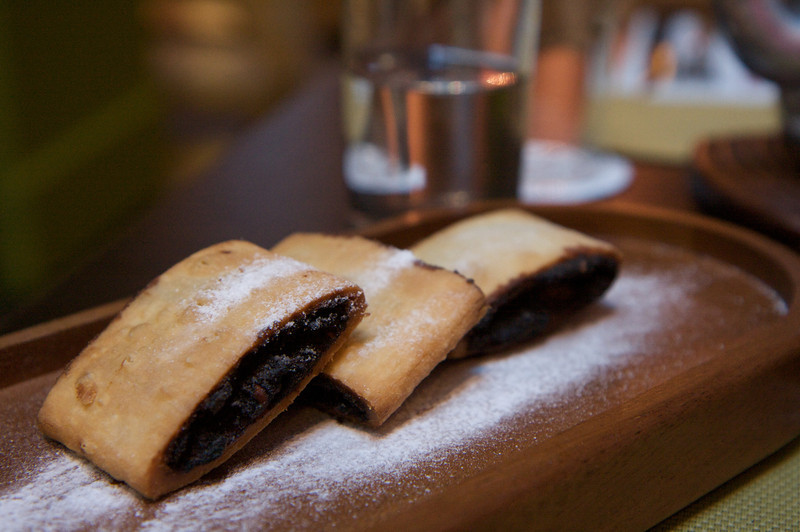 Home made fig newtons at Nenu Bakery