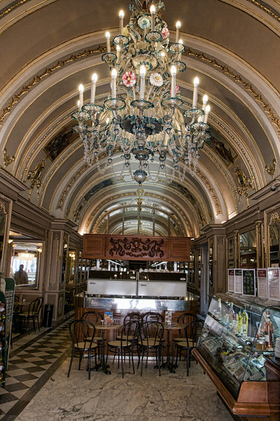 Cafe Cordina's ornate interior