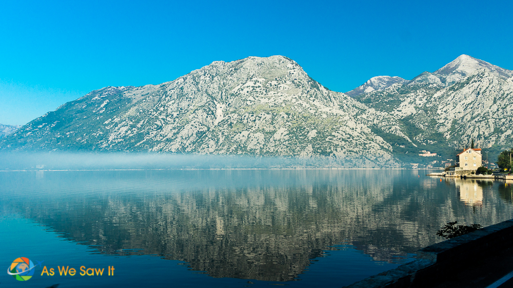Early morning at the Bay of Kotor, Montenegro
