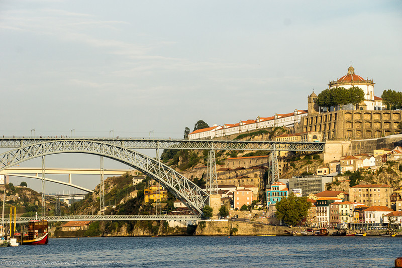 Porto in portugal is a great trekking stop