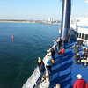 Ferry over Baltic