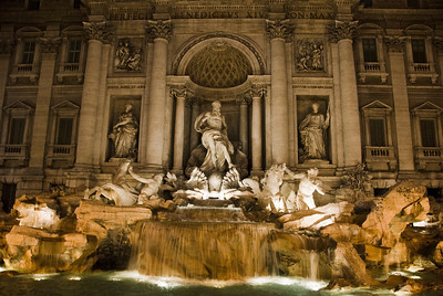 Fontana di Trevi (The Trevi Fountain)