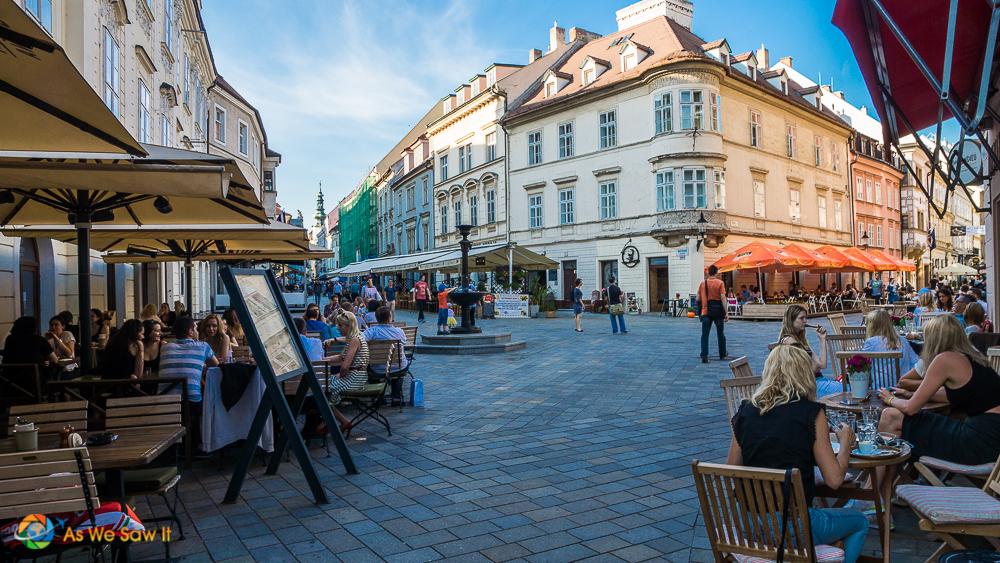 Bratislava square