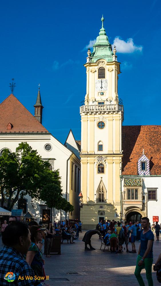 church in old Bratislava