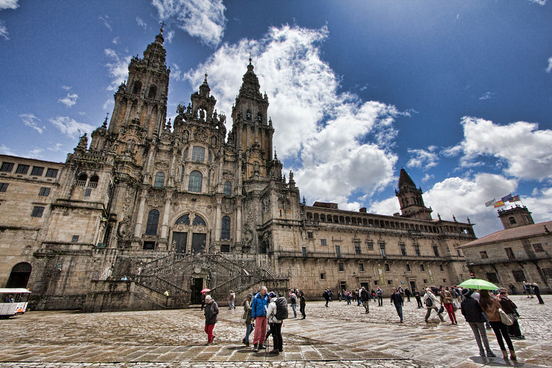 Santiago cathedral - the ultimate destination