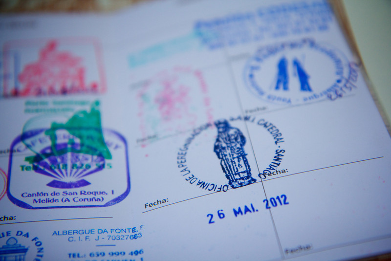 My final stamp in my credentials