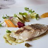 Red sea bream, yuzu and capers