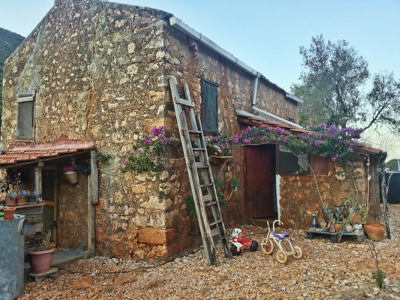 The Pink House along the Lycian Way