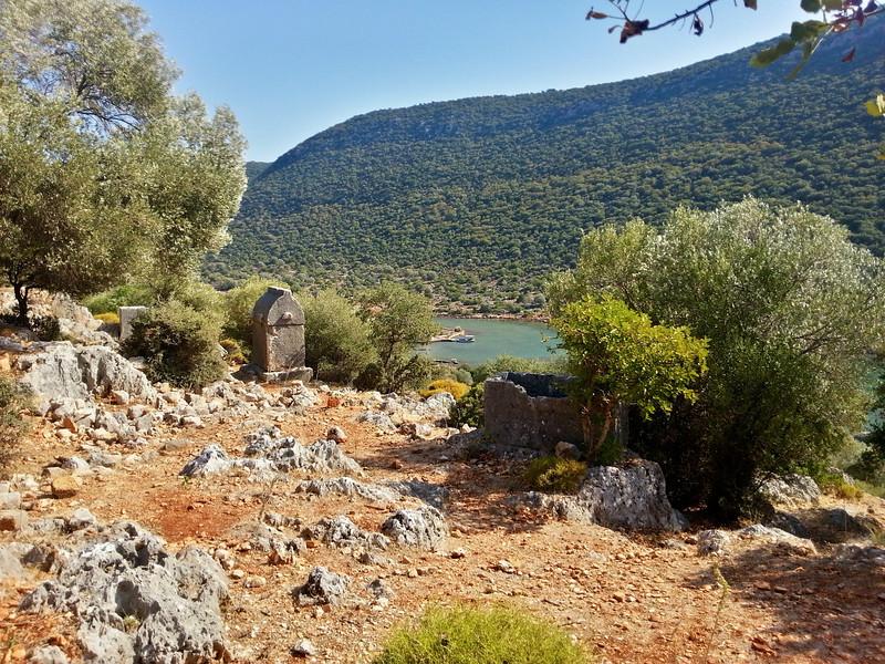 Sarcophagus along the Lycian Way