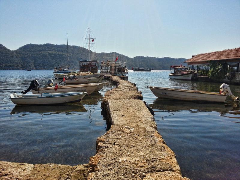 Dock at Simena