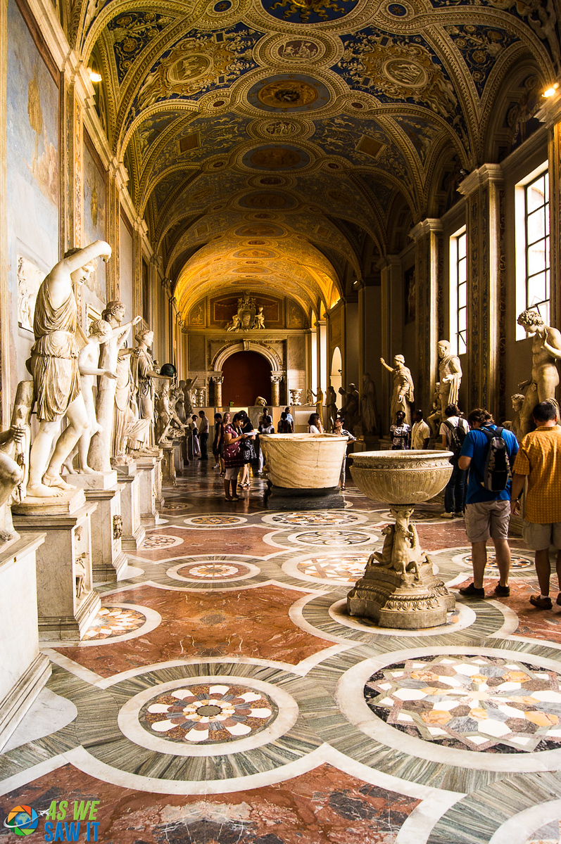 Michelangelo, da Vinci and more ... Can't miss the worldl-class artwork at the Vatican Museums in Vatican City.