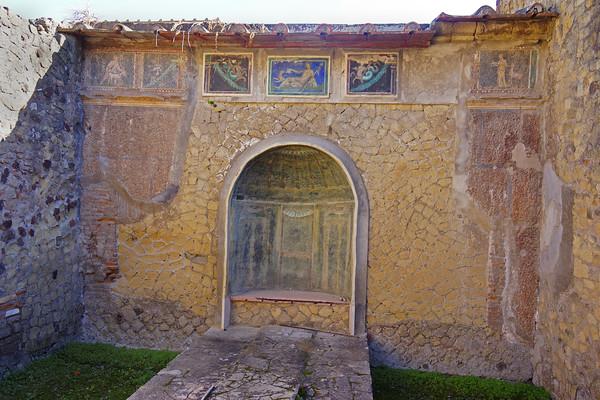 Ruins in Herculaneum, #0556