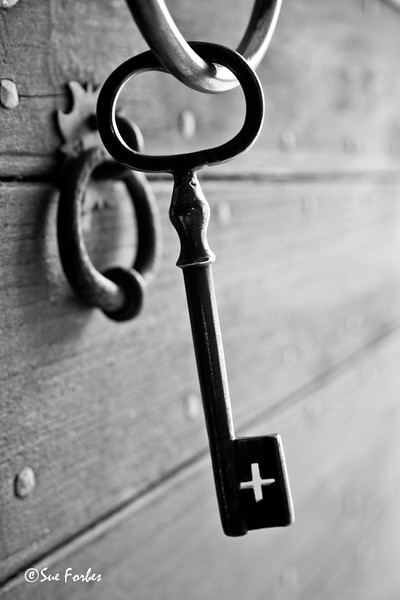 Keys to the manor house at Austratt -  nr Orland, Norway