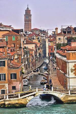 Venice waterways, #0583