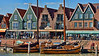 Volendam, Holland boat harbor