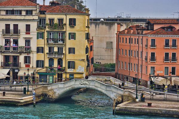 Venice waterways, #0568