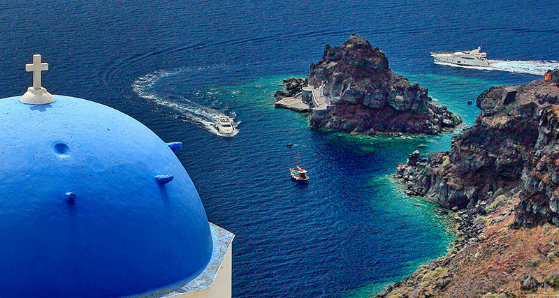 Oia Seascape