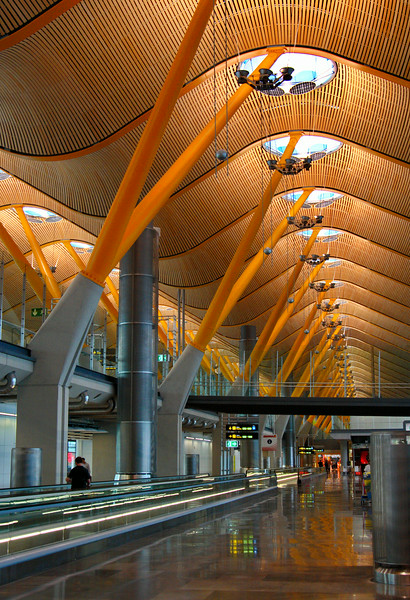 Airport - Madrid, Spain