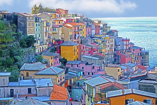 1032 - Positano, Italy on the Amalfi Coast.