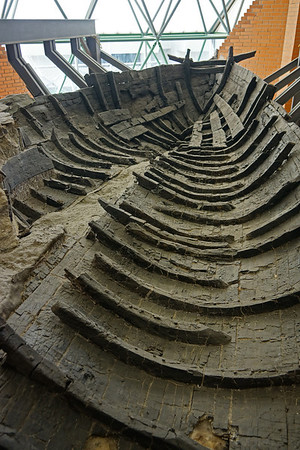 Wood boat remains in Herculaneum, #0564