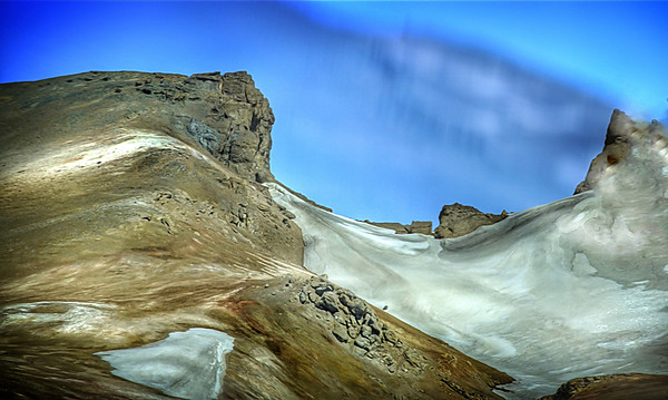 The saddle of tectonic shift in Iceland, #1407
