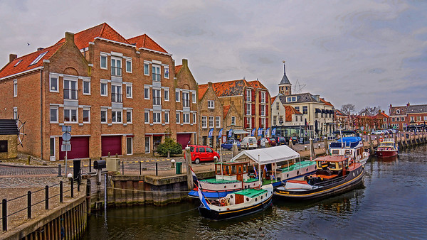 Willemstad, Holland river harbor, #0669
