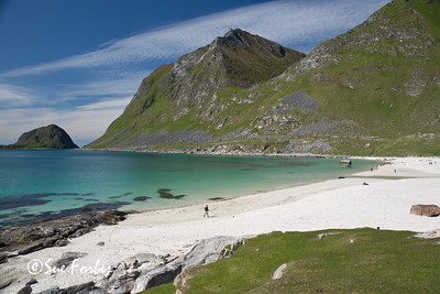 Beach at Ramberg, Lofoten Islands, Norway