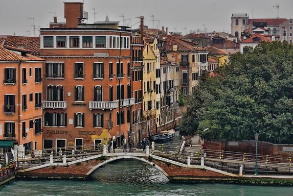 Venice waterways, #0569