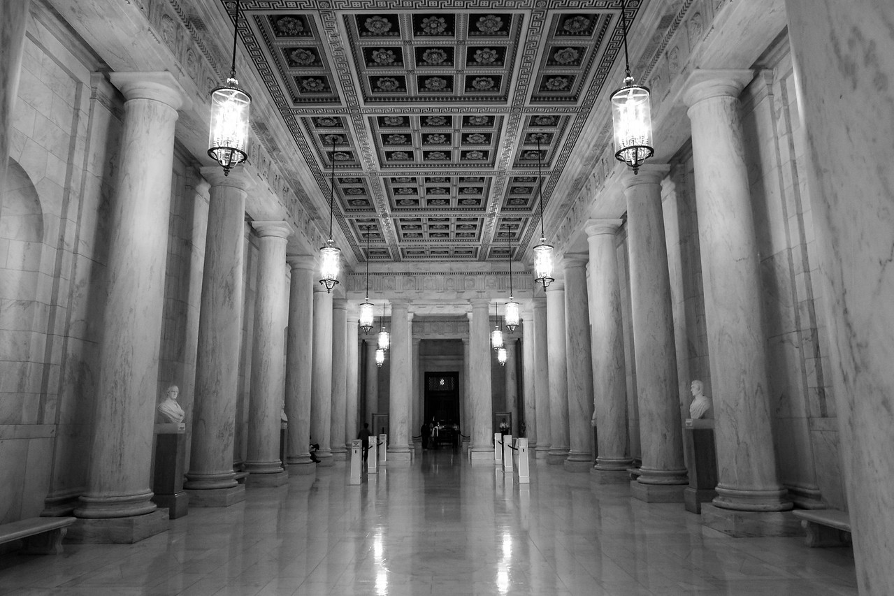 The Great Hall of the Supreme Court. Washington DC,  digital, Mar 2015.