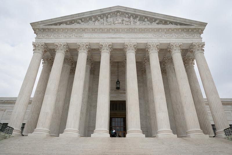 Exterior of the Supreme Court. Washington DC,  digital, Mar 2015.