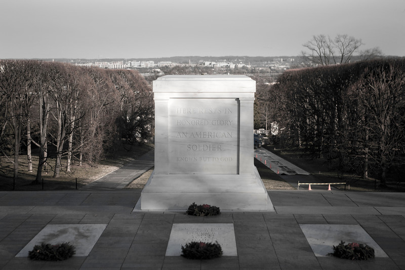 Tomb of the Unknown. Arlington National Cemetery. Digital, Dec 2013