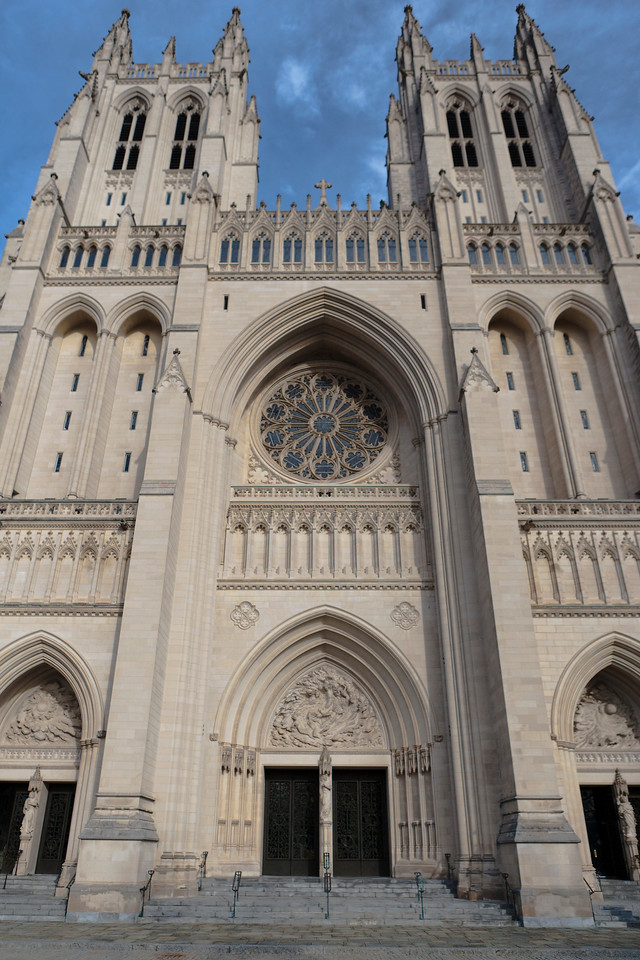 National Cathedral. Digital, Feb 2014.