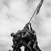 Iwo Jima Memorial in Washington DC. April 2019. TriX medium format.