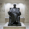 John Marshall statue inside the Supreme Court. Washington DC,  digital, Mar 2015.