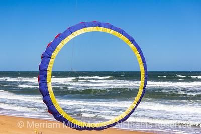 Kites on FLagler Beach