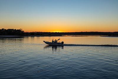Washington Oaks State Park Sunset