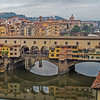 The Ponte Vecchio over the Arno River