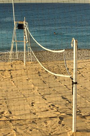 Nice beach volleyball