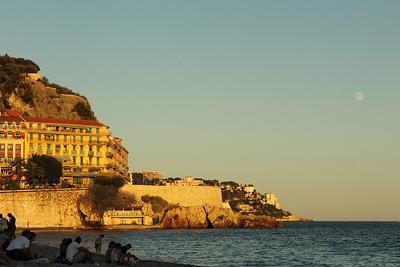 Promenade des Anglais, Hotel Suisse, Nice, France
