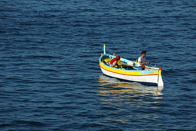 Fishing on the Mediterranean Sea