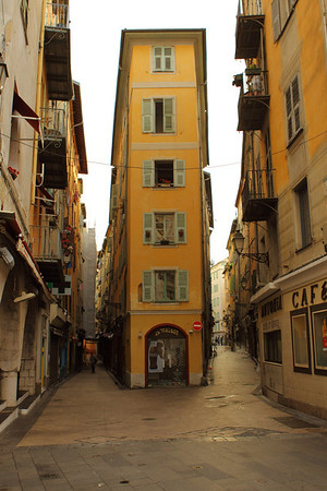 Streets in Nice Old Town