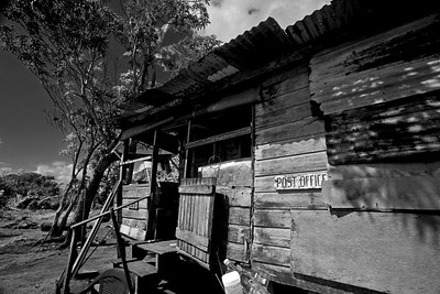 The Post Office at Gales Point, Belize District.