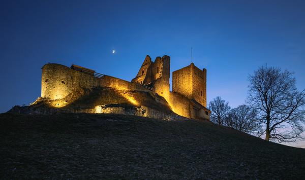 Castle ruin Sulzberg